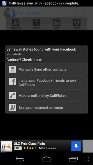 CallFlakes-Android-Scan
