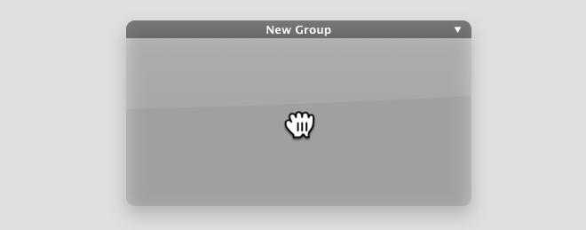 Desktop Groups Lite new group