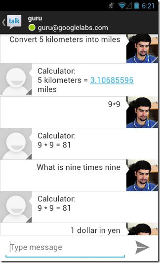Google-Now-GTalk-Android-Calculator-Converter