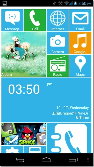 LauncherWP8-Android-Home