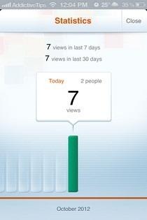 M.dot iOS Stats