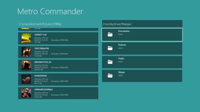 Metro Commander_Main Screen
