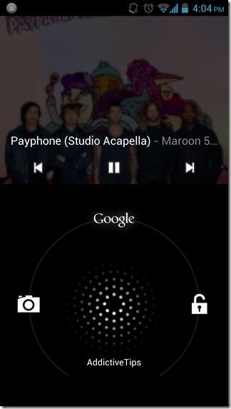 Music-Drive-Android-Lockscreen