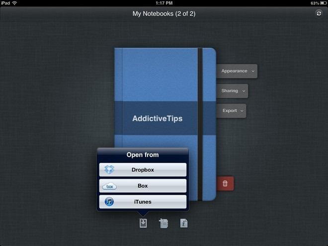 Outline  iPad