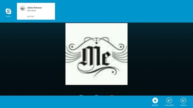 Skype_Right Click Menu In Call
