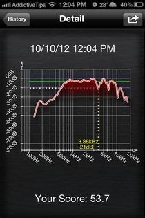 SpeakerTweaker iOS Result