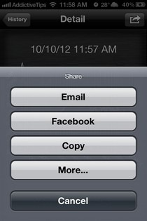 SpeakerTweaker iOS Share