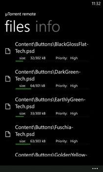 µTorrent Remote WP7 Torrent Files