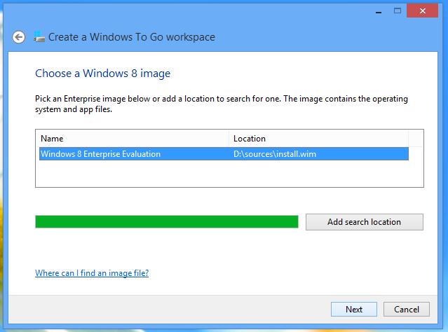 Windows to go 2