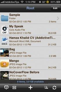 Wireless Drive iOS Home