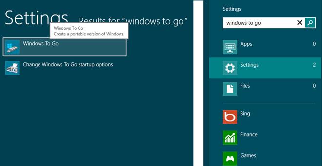 search windows to go