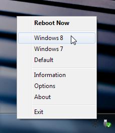 Reboot-To Right click menu