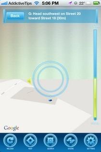 AR-MAPS iOS Directions