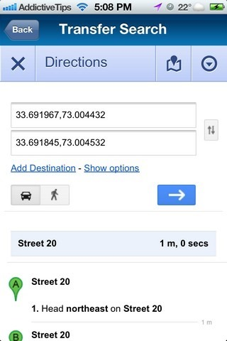 AR-MAPS iOS Transfer