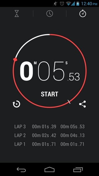 Android-4.2-Stopwatch