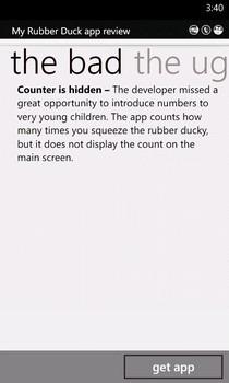 App Discovery WP Parent Negative Review