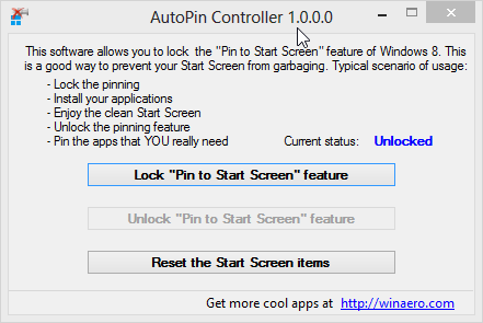 AutoPin Controller 1