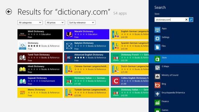 D.com Store Search