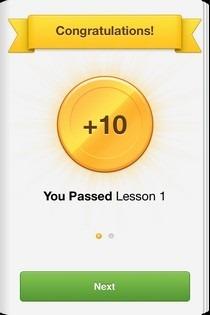 Duolingo iOS Reward