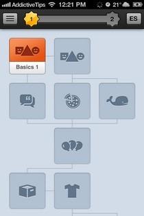 Duolingo iOS Skill Tree