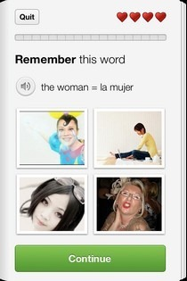 Duolingo iOS Word