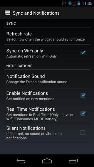 Falcon-Pro-Beta-Android-Settings