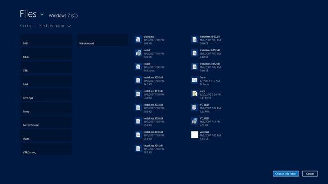 Files&Folders Default Folders