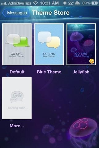 GO SMS iOS 5 Themes