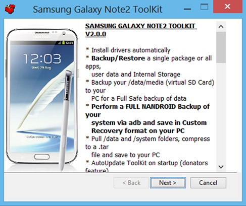Galaxy Note2 All in one Toolkit