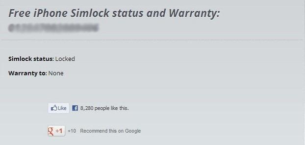 IMEI Info iOS Unlock