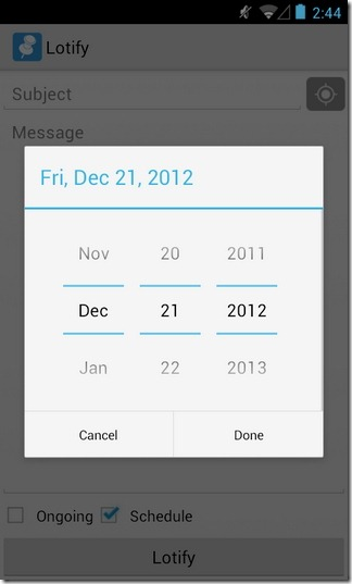 Lotify-Android-Set