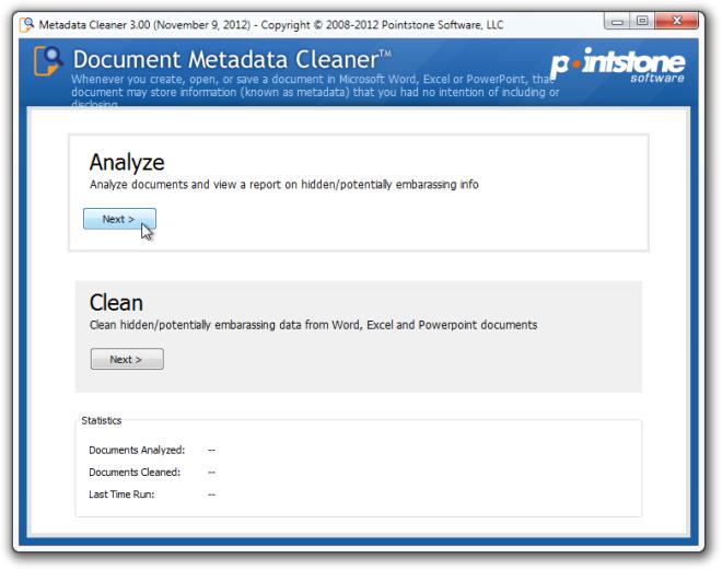 Metadata Cleaner