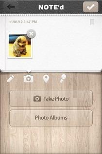NOTE'd iOS Photos