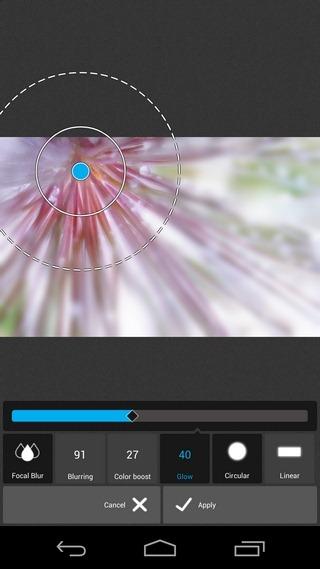 Pixlr-Express-Android-Focal-Blur