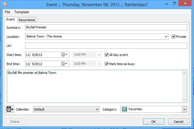 Rainlendar_Event