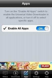 Universal Video Downloader iOS Apps