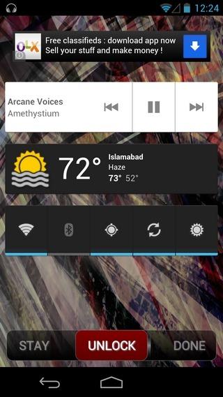 Widget-Lock-Android-Sample2