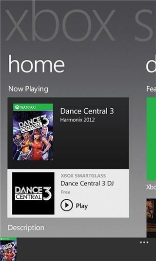 Xbox SmartGlass Home