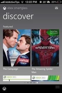 Xbox SmartGlass iOS Discover