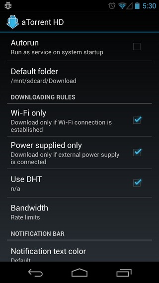aTorrent-Android-Settings