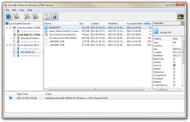 Active@ KillDisk for Windows [FREE Version]