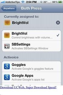 BrightVol iOS Activator