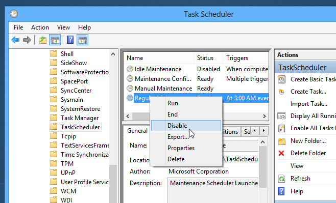 Change or disable Regular or Automatic Maintenance in Windows 8_Step_6