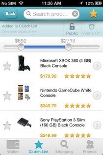 Clutch Shopping iOS Filter