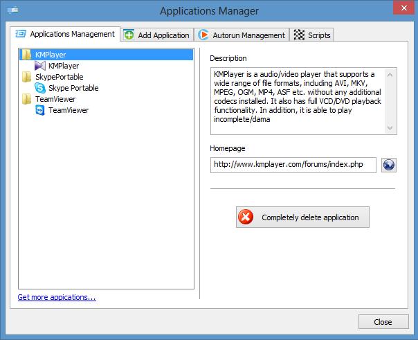 CodySafe_Application Management
