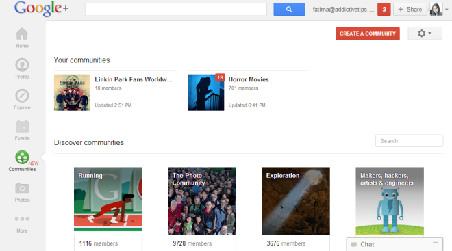 Communities Google