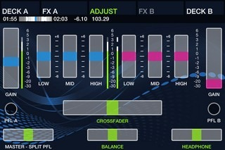 DJ Player iPhone Adjust
