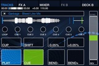 DJ Player iPhone Deck