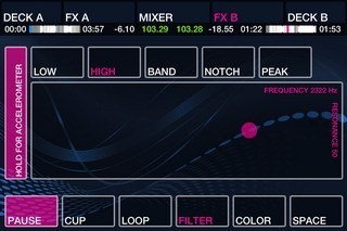 DJ Player iPhone Filters