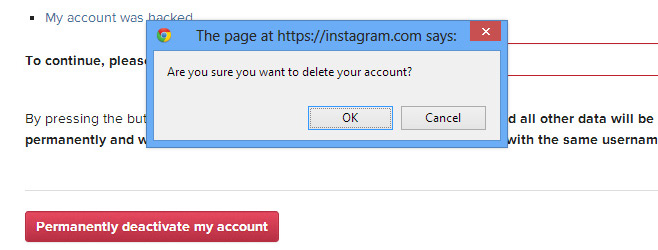 Delete-confirmation